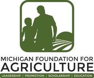Michigan Foundation for Agriculture Logo Stacked