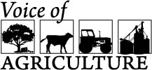 Voice of Agriculture logo