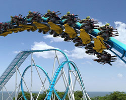Cedar Point Gatekeeper Ride