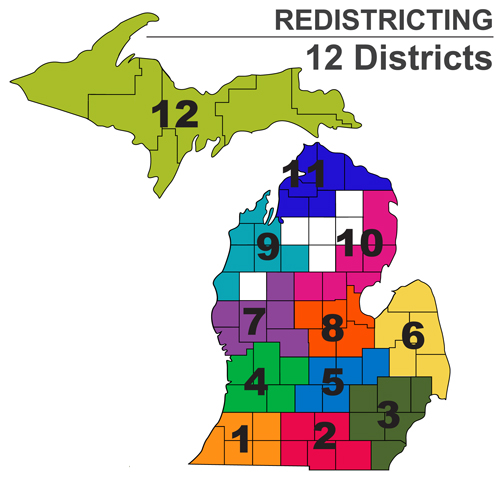 study committee redistricting map ST